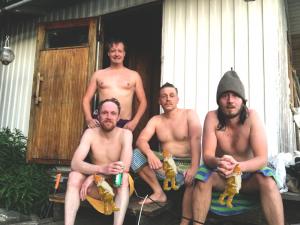 Maailmanpuu & Havuhattu: sauna – suomalainen temppeli